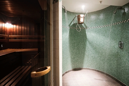 Malmaison Newcastle Bucket Shower and Sauna