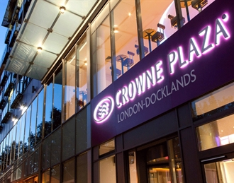 Crowne Plaza London Docklands, Poplar