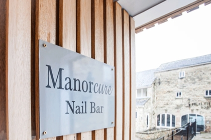 Manor House Manicure Nail Bar Entrance