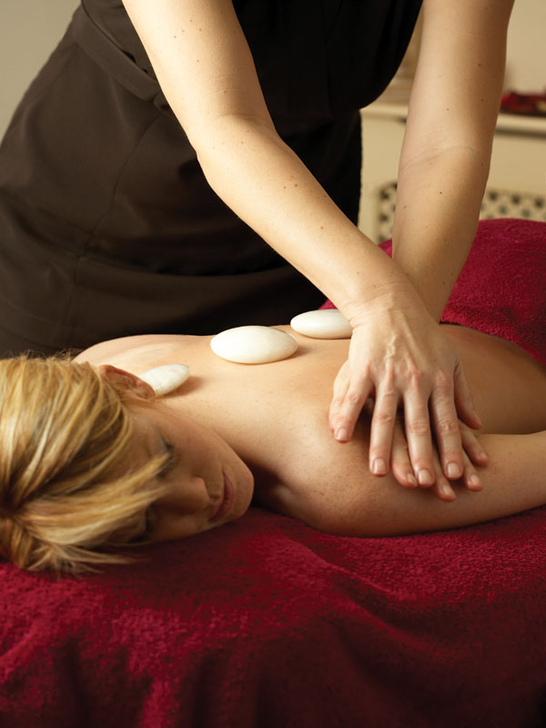 Grand Eastbourne spa treatment hot stone massage