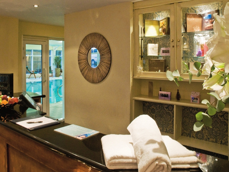 Crutherland House Spa Reception