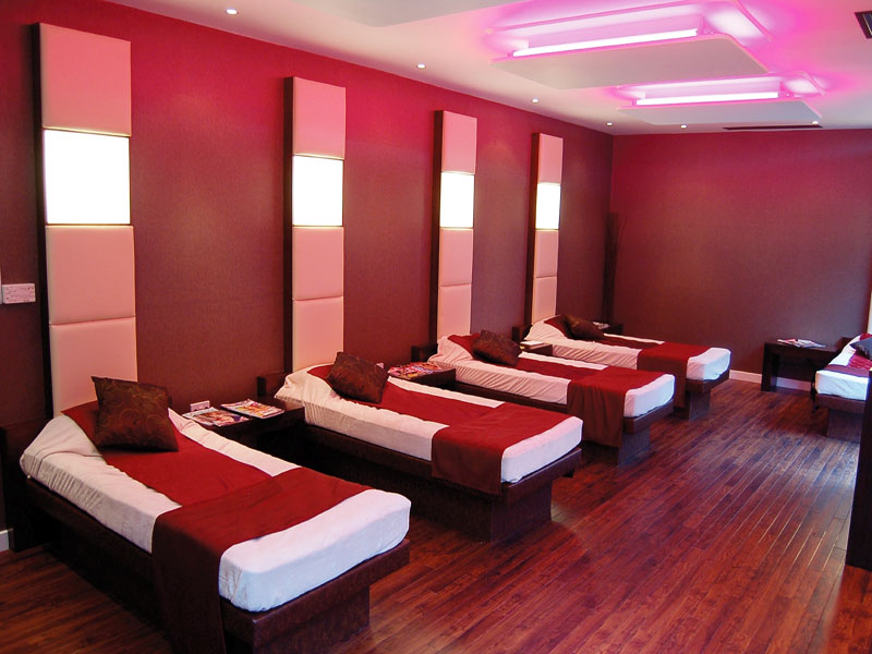 Bannatyne spa relaxation beds