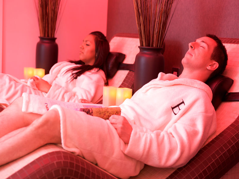 Bannatyne spa relaxation room