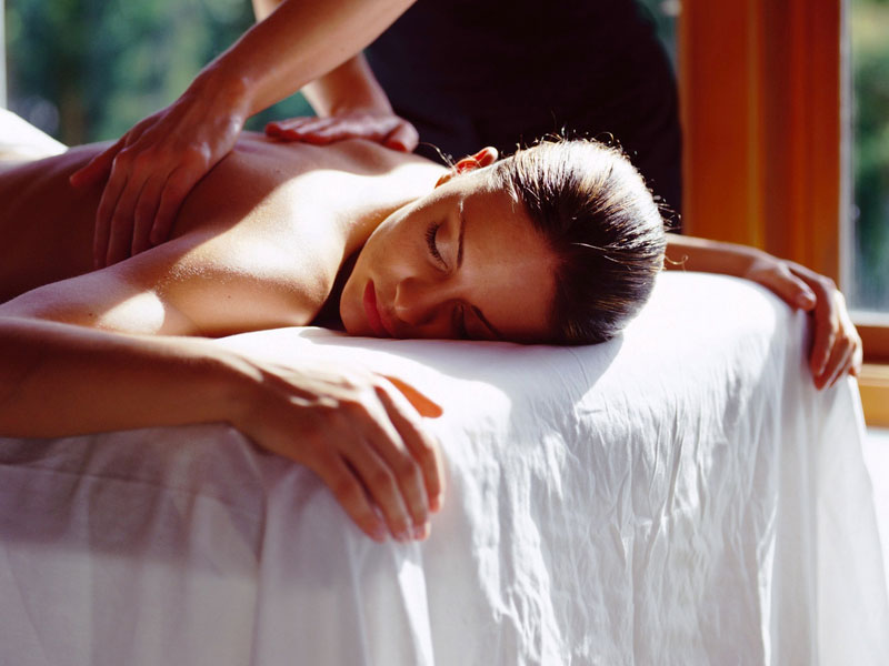 Grayshott spa treatment massage