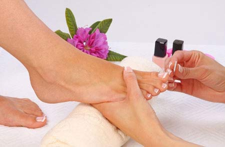 Pedicure (file & polish)