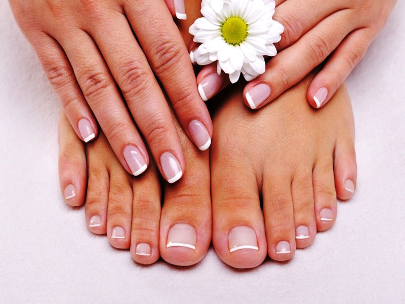 Manicure or pedicure each(file & polish)