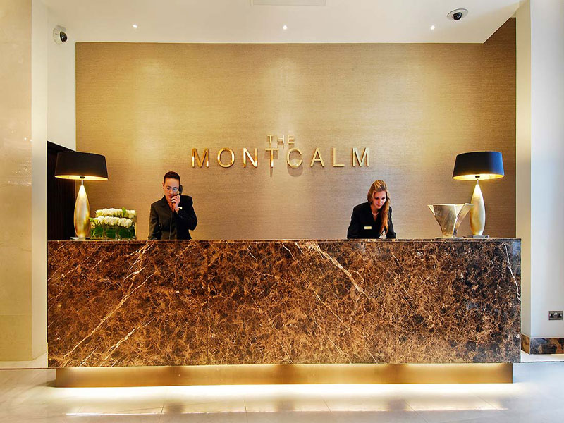 Spa at The Montcalm Reception