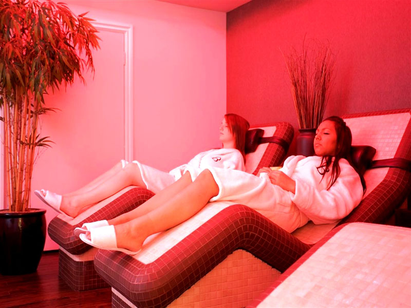 Bannatyne spa heated relaxation beds 1