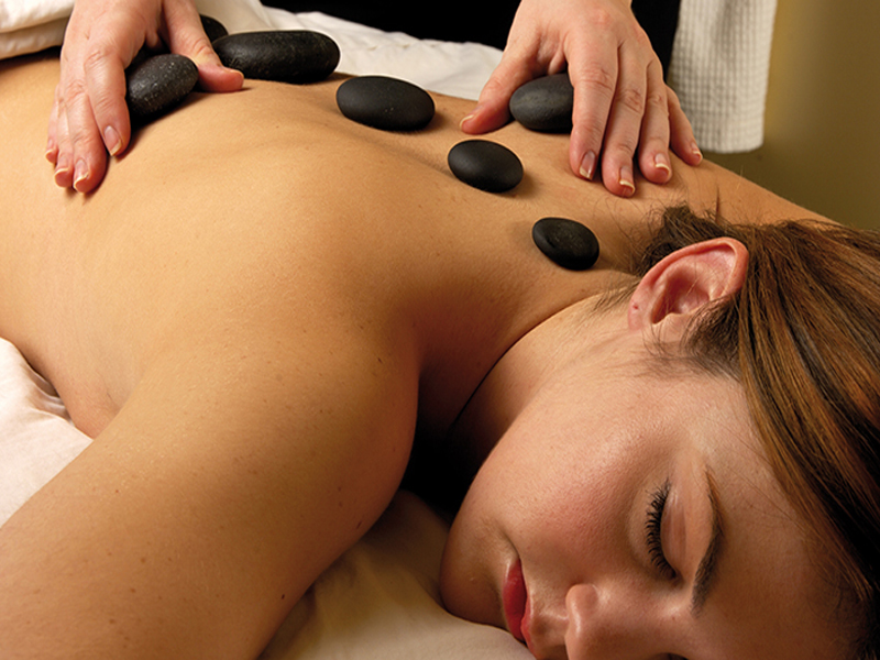 Solent spa treatment hot stone massage
