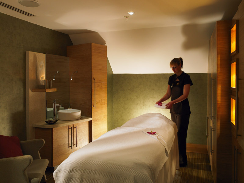 Sprowston spa treatment room 1