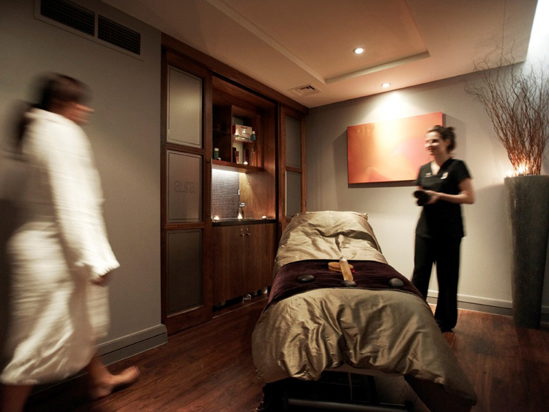 Tytherington spa treatment room 1